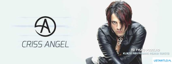 tło na facebooka Criss Angel