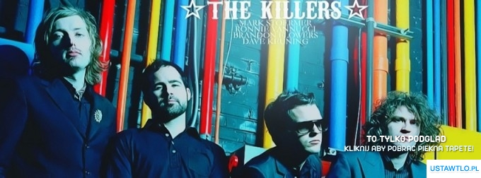 tło na facebooka The Killers