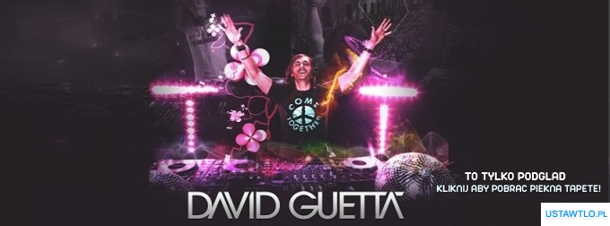 cover tapeta David Guetta
