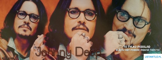 tło na facebooka Johnny Deep