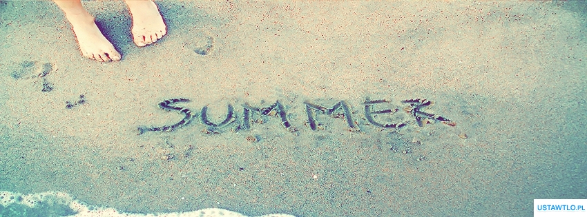 tło Tapeta Summer na facebooka oś czasu