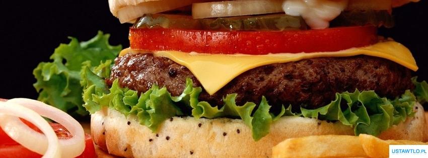tło Hamburger na facebooka oś czasu