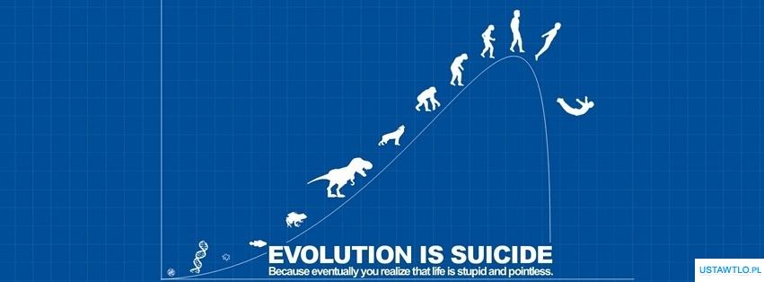 tło Ewolucja na facebooka oś czasu