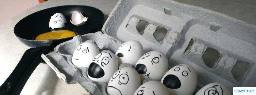 tło Tapeta jajka na facebooka oś czasu