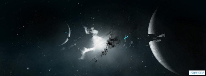 tło Planety na facebooka oś czasu