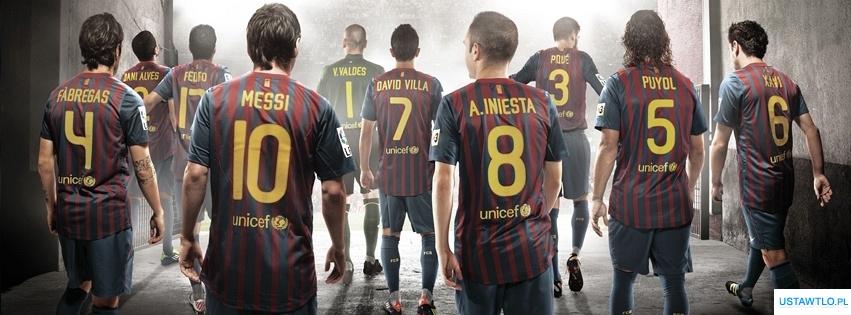 tło FC Barcelona na facebooka oś czasu