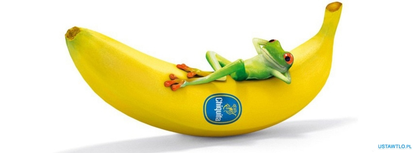 tło Banan na facebooka oś czasu