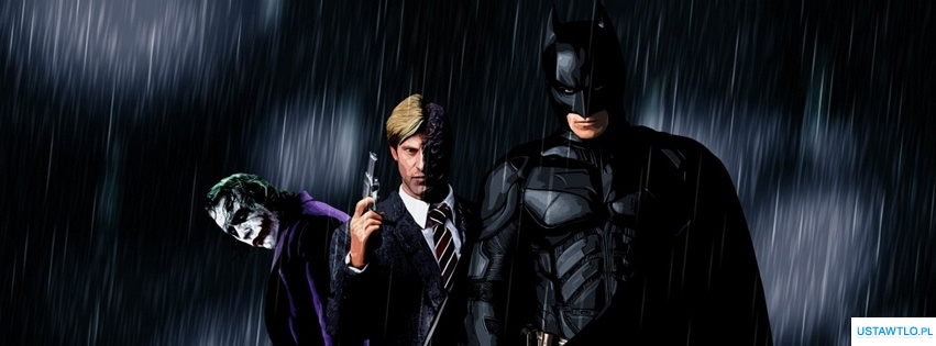 tło Batman na facebooka oś czasu