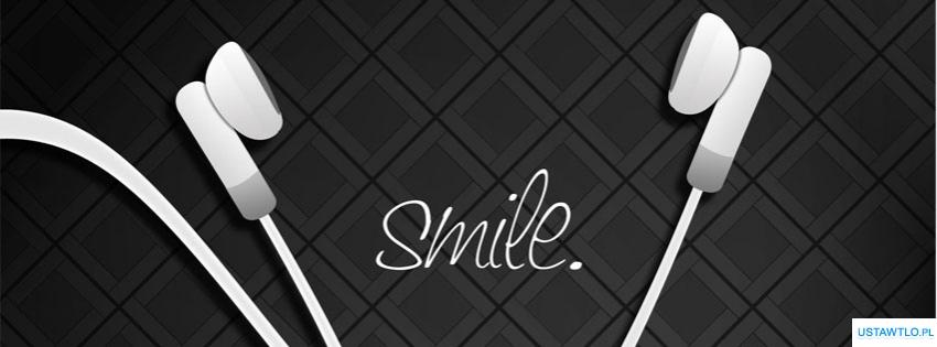 tło Smile na facebooka oś czasu