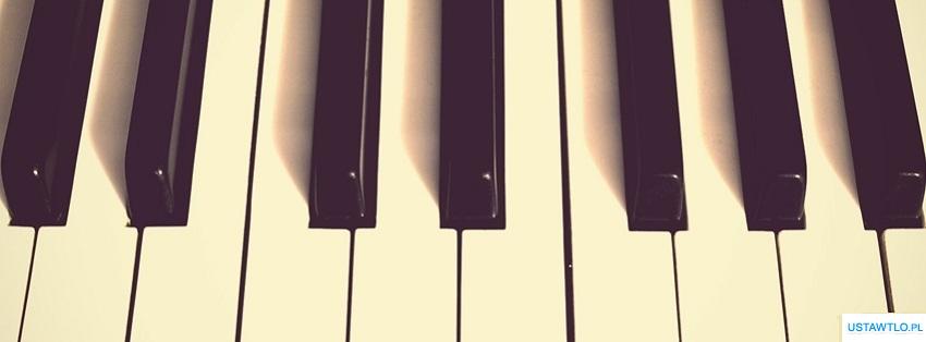 tło Tapeta Pianino na facebooka oś czasu